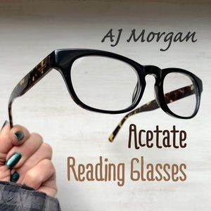 AJ Morgan Unisex Tortoise Reading Glasses